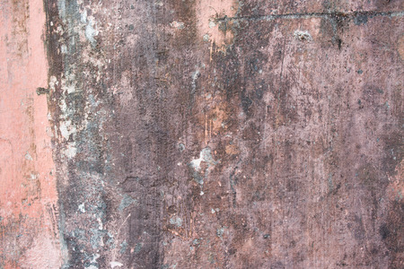 wrecked: Street aged cement old wrecked rusty rough grunge stone wall texture background.