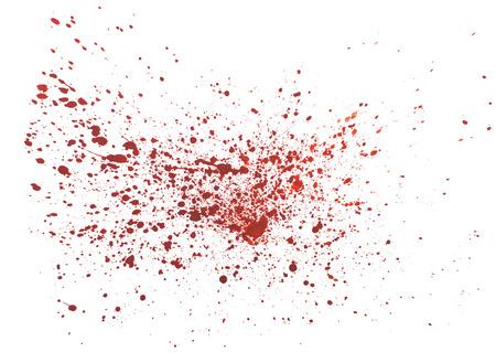 抽象的な水彩 aquarelle 手の描かれたカラフルな図形アート赤カラー ペイントまたは血液スプラッタ汚れスプラッシュとスプレー
