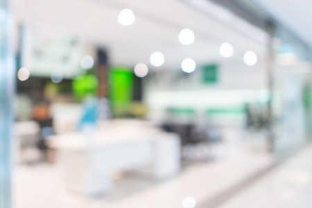 blurred background: Store, shopping mall office abstract defocused blurred background