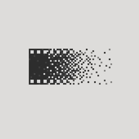Photo concept analogue digital versus film photography  Illustration