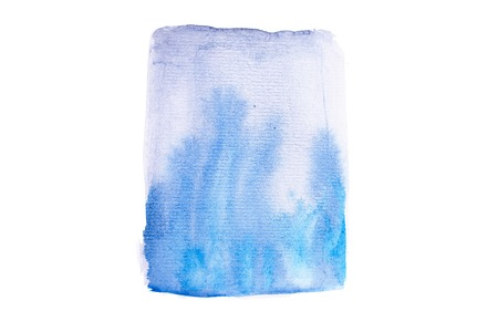 aquarelle: Abstract watercolor aquarelle hand drawn colorful shapes art paint splatter stain on white background