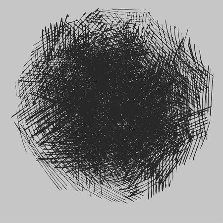 Textura de dibujo de sombreado rugoso Foto de archivo - 90502053