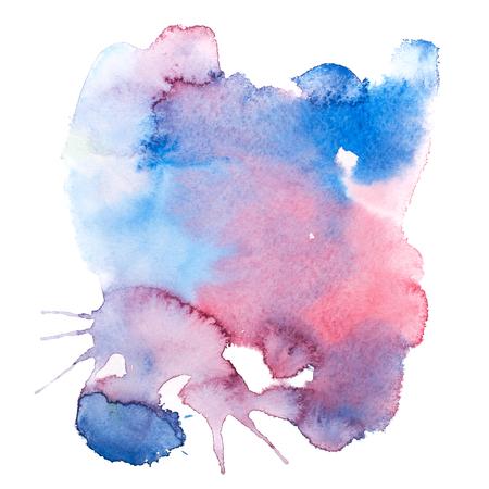 colorful retro vintage abstract watercolour aquarelle paint.