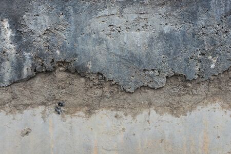 Mur de béton gris vieux fond de texture grungy