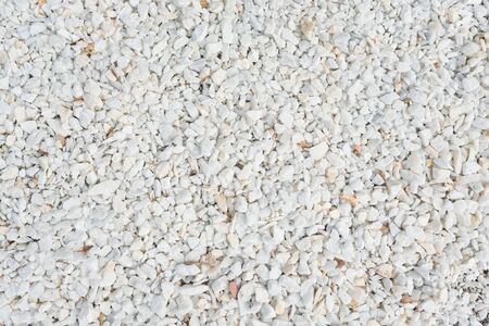 Small gravel stones, little scree texture macadam background Stok Fotoğraf