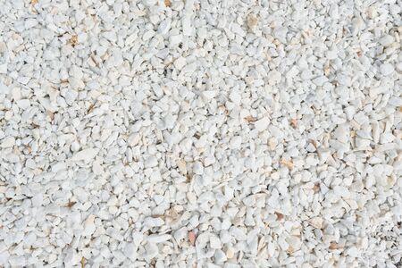Small gravel stones, little scree texture macadam background 版權商用圖片