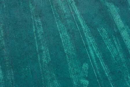 Texture of green non-slip mat rubber floor on playground Backgroung Zdjęcie Seryjne