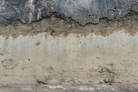 Grey concrete wall old grungy texture background