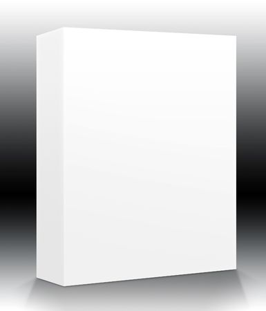 ebox: A blank box ready for your product - guides included for easy isolation of shapes and surfaces