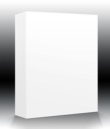 ebox: Una scatola vuota pronta per il vostro prodotto - incluse le guide per facilitare l'isolamento di forme e superfici