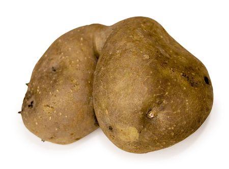 A potato that looks like a butt Stock Photo