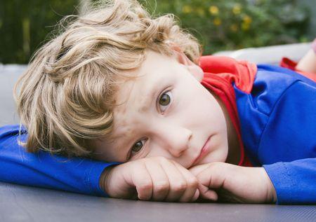 superboy: Melancholy on the trampoline