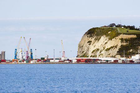 The port of Napier, Hawkes Bay, New Zealand photo