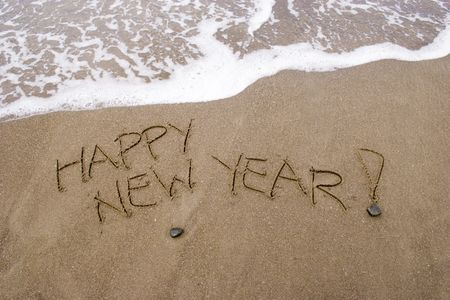 yule tide: Happy New Year. A summer  in the Southern Hemisphere.
