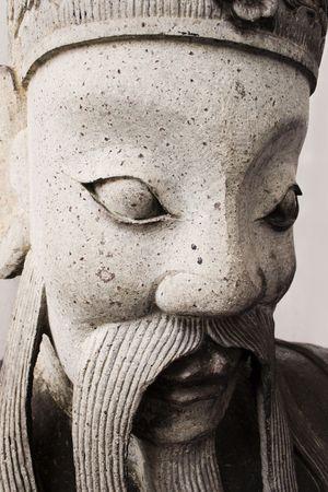 bangkok temple: A statue in a Bangkok Temple