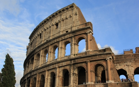 Roman Colosseum in Rome, Italy Stock Photo - 16843126