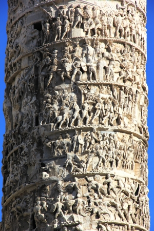 Column of Marcus Aurelius Stock Photo - 16858463