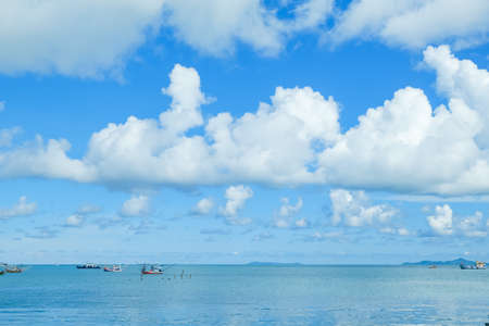 blue sky and sea view