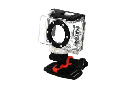 waterproof: Waterproof camera housing