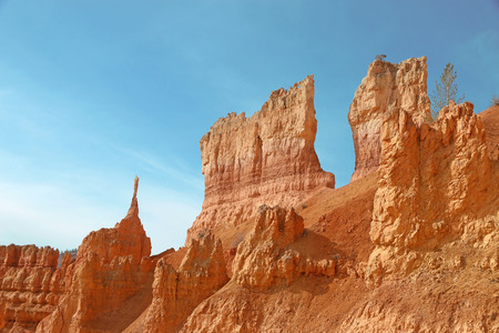 point of view: Sunrise point view Bryce Canyon National Park, Utah, USA