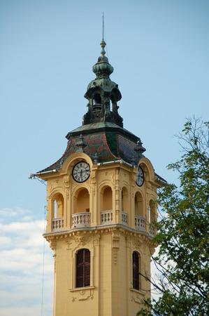 szeged: Town Hall at Szeged (Hungary) was built in 1883 to plans by �d�n Lechner and Gyula P�rtos.