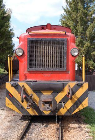 Narrow-gauge railway at Szilvasvarad station going to Szalajka valley in Hungary. Szilvasvarad lies 32 kilometers North of Eger on the Western part of the Bukk Mountains. Stock Photo - 1799910
