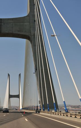 longest: The longest bridge in Europe at Lisbon (including viaducts), with a total length of 17.2 km.
