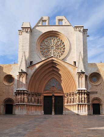 Tarragona Cathedral. One of most famous places of province. Catalonia, Spain. Stock Photo - 7900959