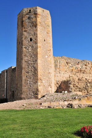 Ruines of Roman circus of Tarraco, Tarragona, Spain. photo
