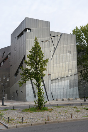 Jewish Museum in Berlin by architect Daniel Libeskind, Germany
