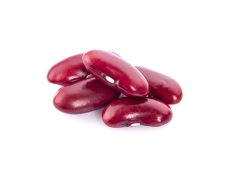 red beans isolated on the white background. Stock Photo