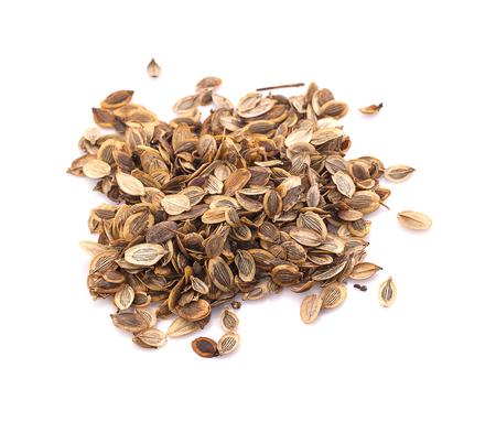 Closeup Dried Ma-khwaen Seeds (Zanthoxylum limonella) a Traditional Thai Food Ingredient.