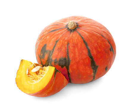 Pumpkin isolated on a white background Stock Photo