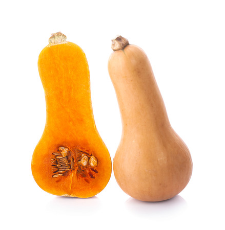 Butternut squash isolated on white background Stock fotó