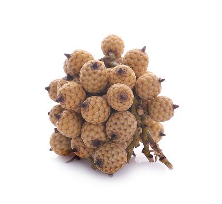 Ripe Rattan fruit isolated Reklamní fotografie