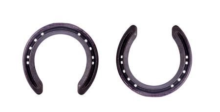 horseshoe isolated on white background