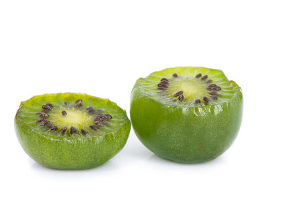 Kiwi berry isolated on white background 写真素材 - 125710473