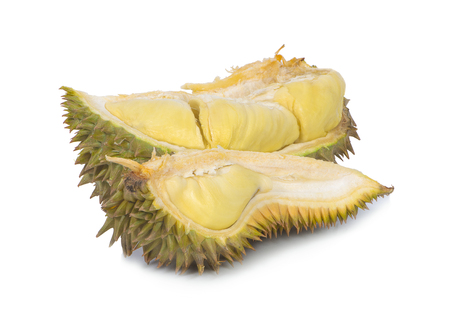 durian an isolated on white background