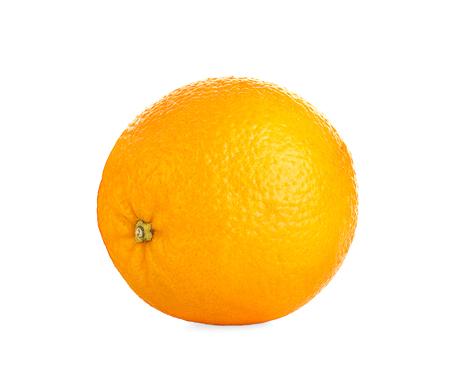 Orange fruit isolated on white 写真素材