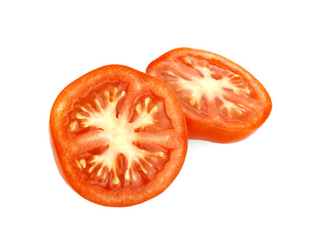 tomato isolated on white background 写真素材 - 125710582