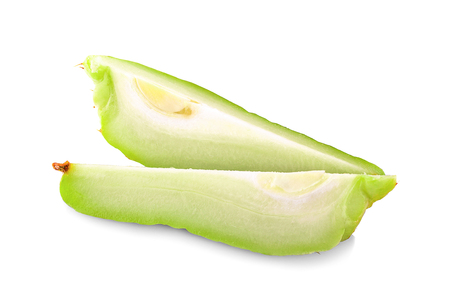 Chayote an isolated on white background 写真素材 - 125710594