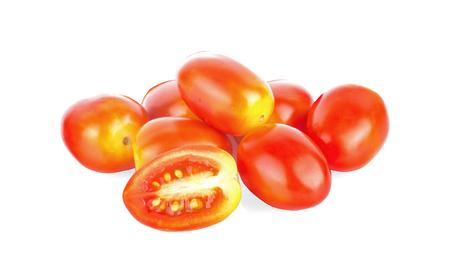 tomato isolated on the white background