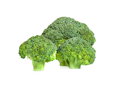 Broccoli an isolated on white background
