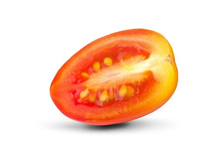 tomatoes an isolated on white background