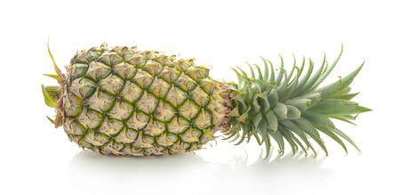 Pineapple fruit isolated on white background