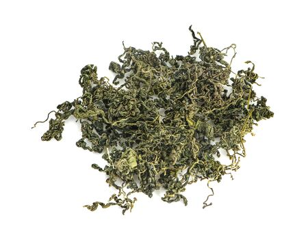 Jiaogulan, Miracle grass, Chinese herb tea an isolated Standard-Bild