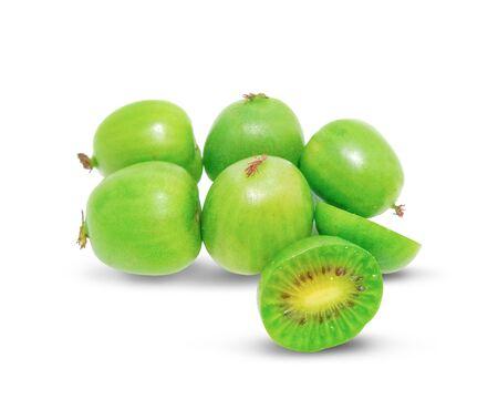 mini kiwi baby fruit (actinidia arguta)
