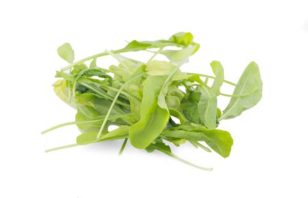 Chinese kale vegetable an isolated on white background