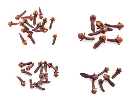 dry cloves an isolated on white background