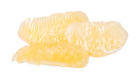 pomelo citrus fruit isolated on white background